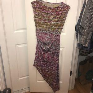 Multi-color BCBG Maxi dress